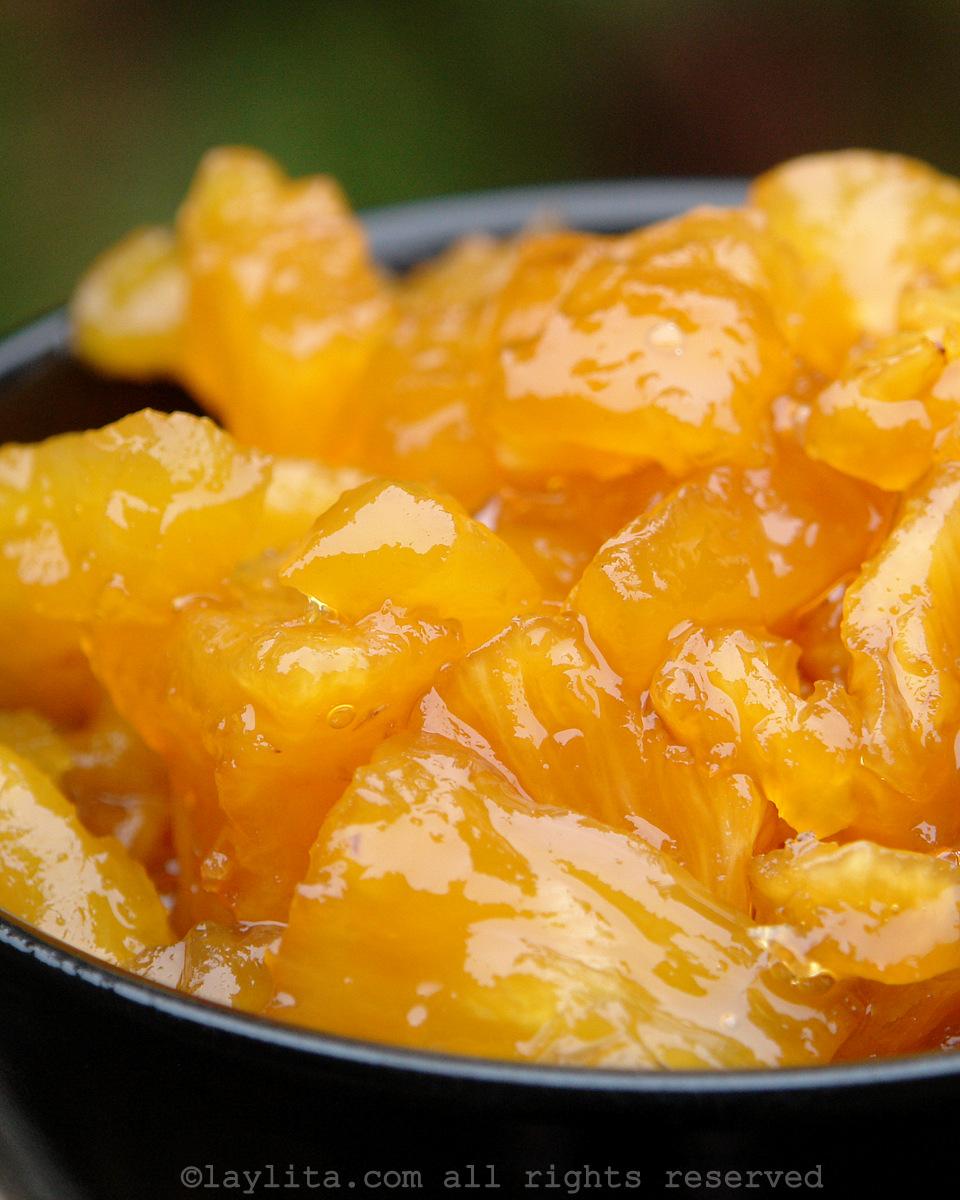厄瓜多尔甜菠萝或焦糖菠萝