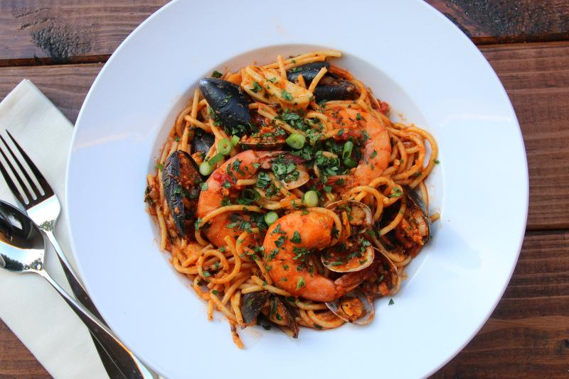 海鲜意大利面食谱