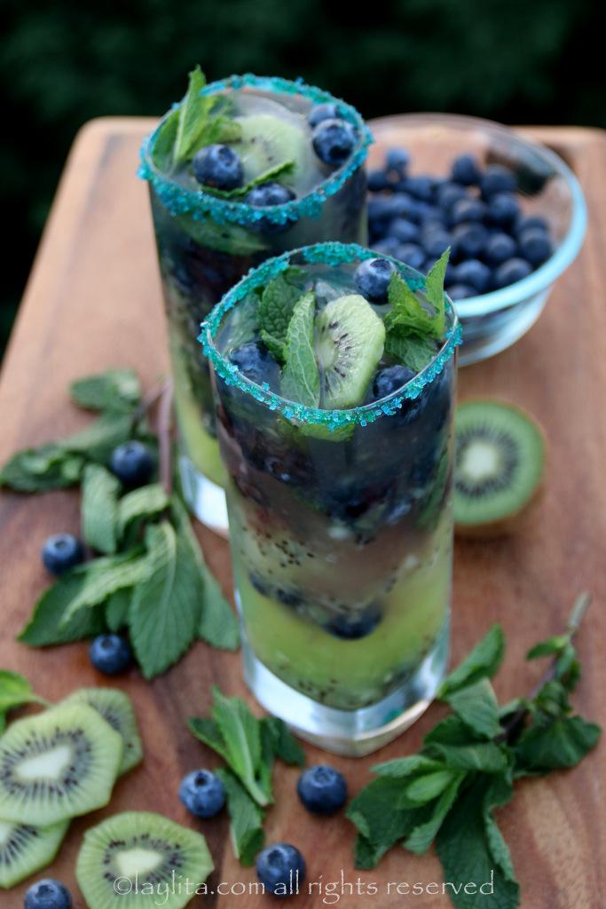 奇异果蓝莓——第12人莫希托