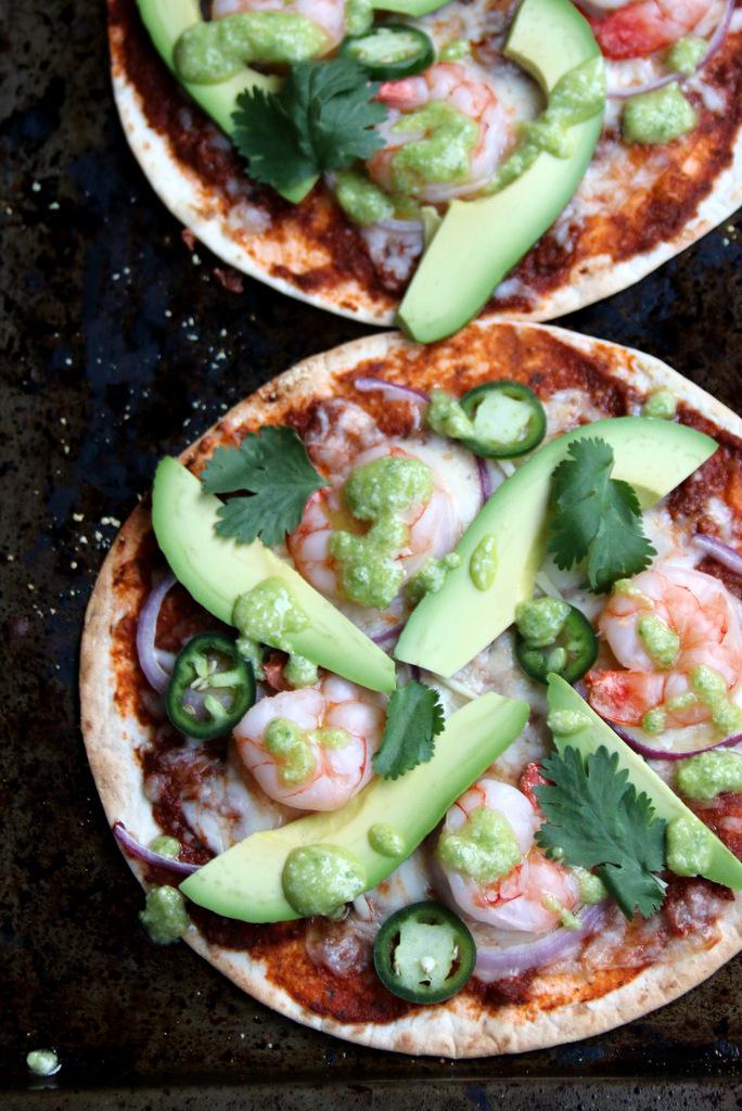 墨西哥式玉米比萨