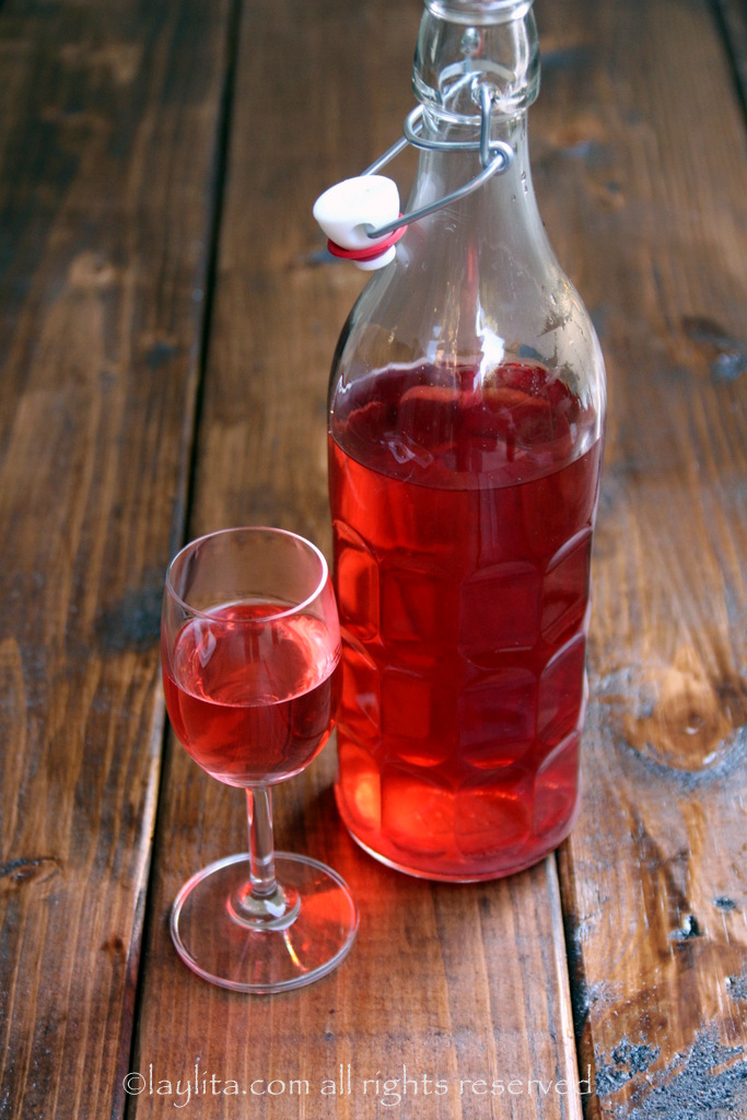 草莓龙舌兰酒