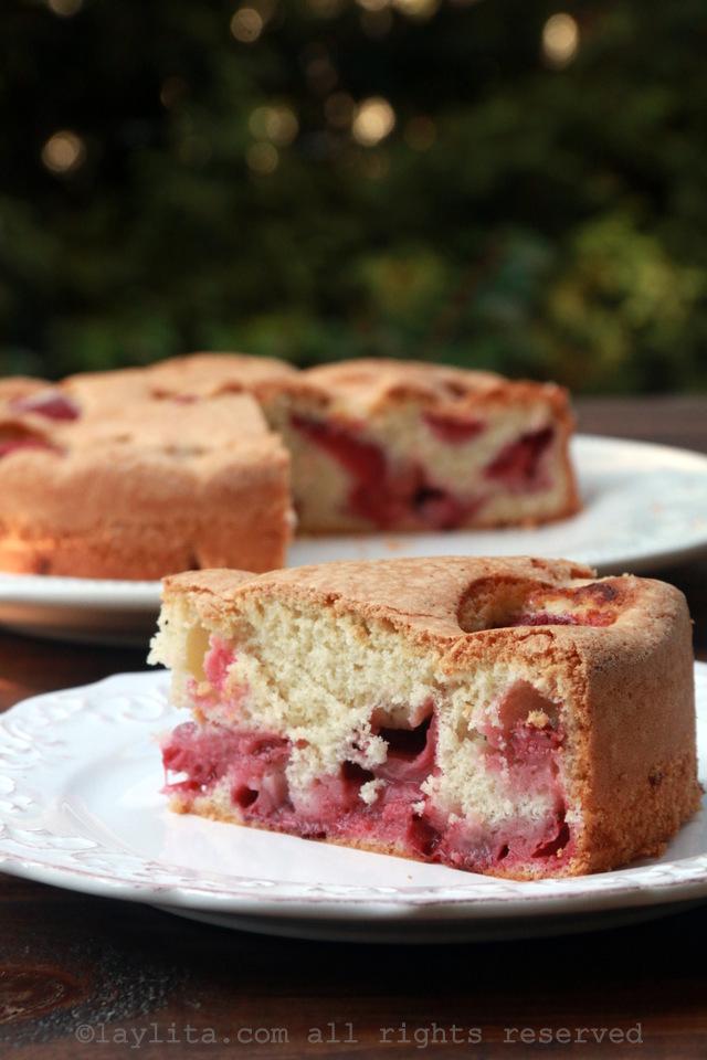 简易草莓蛋糕