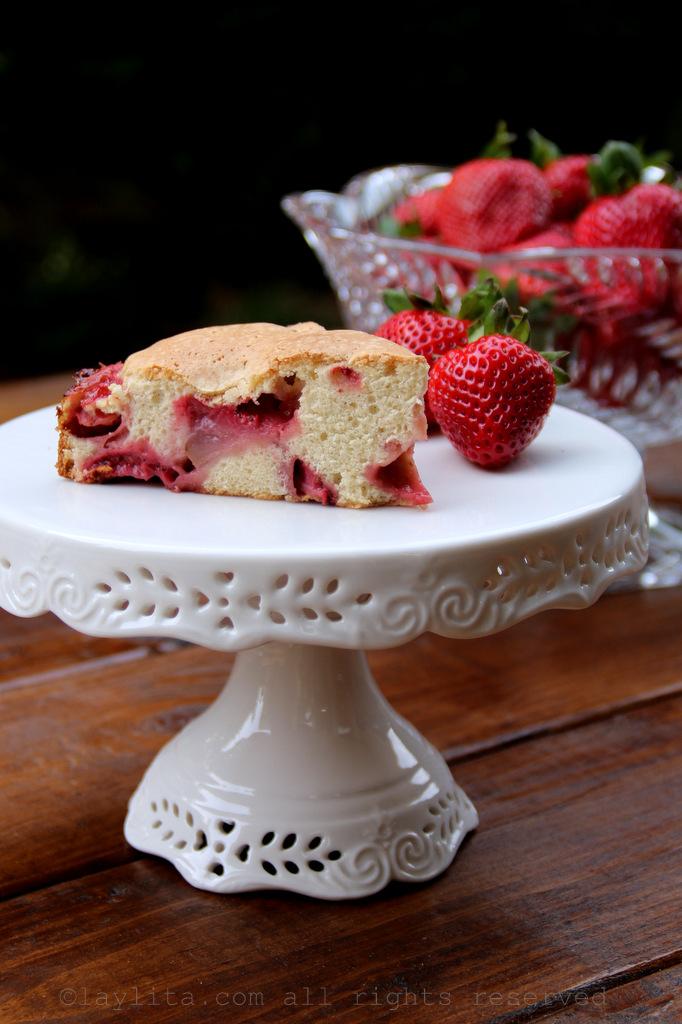 简易草莓蛋糕食谱