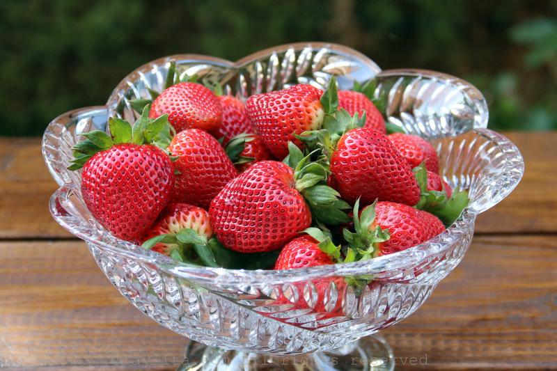 新鲜草莓蛋糕