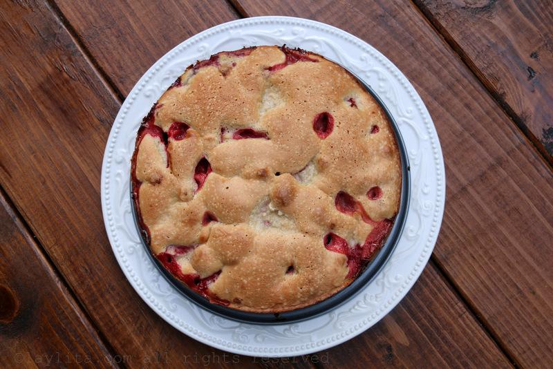 自制简易草莓蛋糕