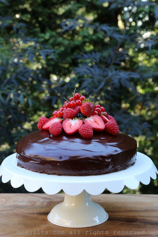 简单巧克力蛋糕