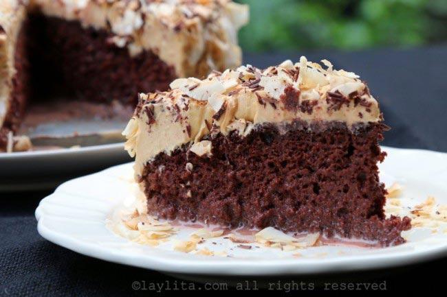 巧克力三奶蛋糕的食谱