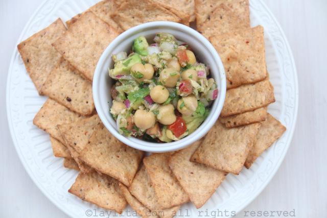 鹰嘴豆沙拉也可以当作前菜
