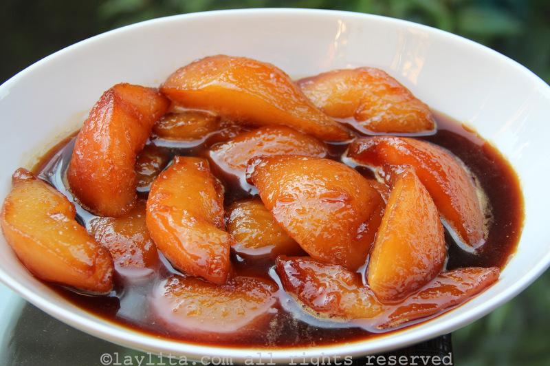 五香焦糖梨子