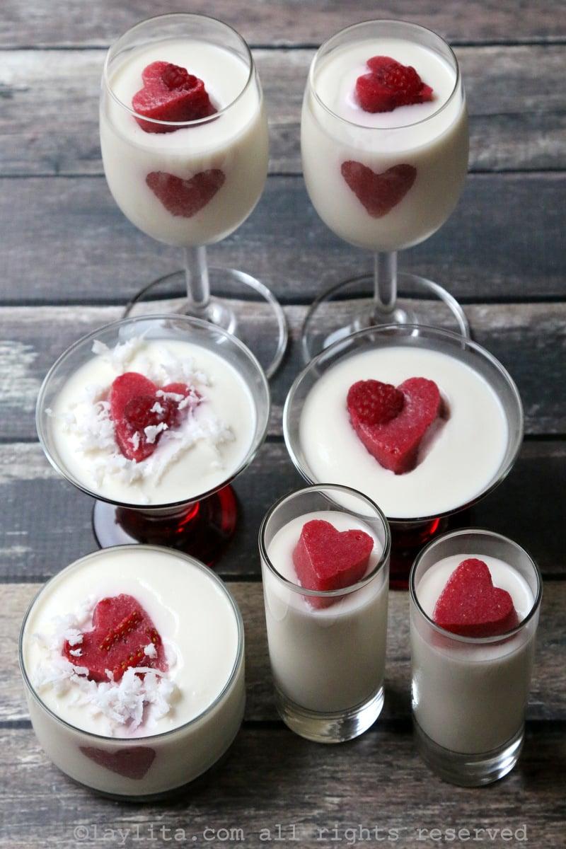 意式莓奶冻