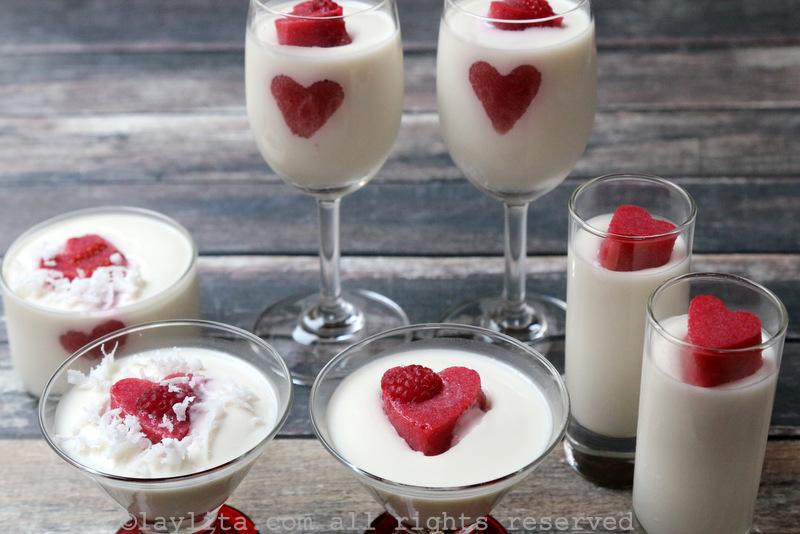 情人意式椰香霉奶冻