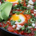 Spicy shakshuka with a Latin twist